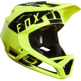 Fox Proframe Mink Helmet Men yellow/black